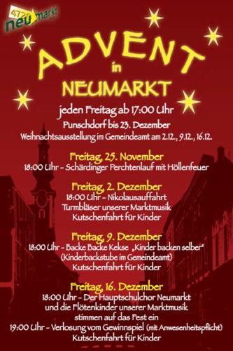 2011-11-25 - Neumarkter Adventmarkt - 1. Freitag (001)